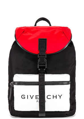 Givenchy Backpack in Black & Red & White - Black,Red. Size all.