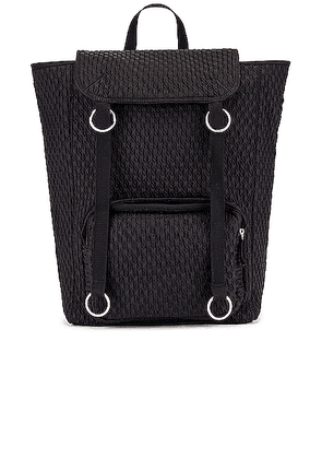 Raf Simons Topload Loop Backpack in Black - Black. Size all.