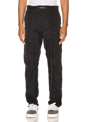 Fear of God Nylon Cargo Pant in Navy - Blue,Black. Size L (also in M,S,XL).