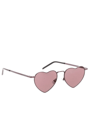 Glasses Sl301 Heart Metal Glasses By Saint Laurent