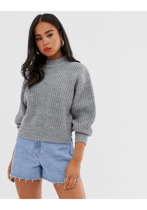 ASOS DESIGN chunky jumper with crew neck
