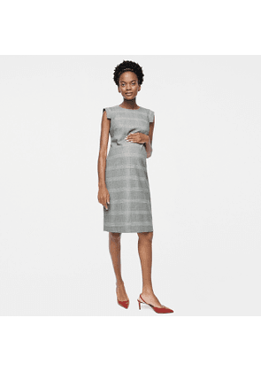 HATCH X J.Crew résumé dress in glen plaid