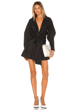 L'Academie The Draya Mini Dress in Black. Size M,S,XS.