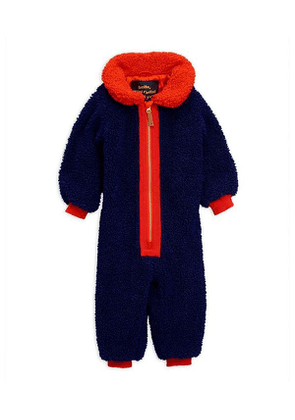 Faux Shearling Baby Overall 6-18 Months