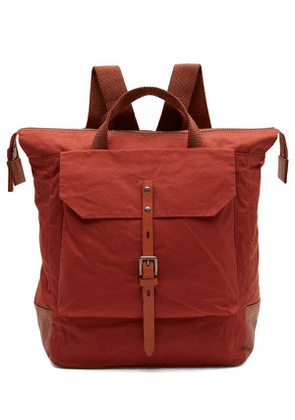 Frances Small Waxed Cotton Rucksack
