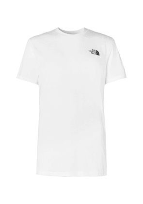 The North Face - Dome Logo-print Cotton-jersey T-shirt - White