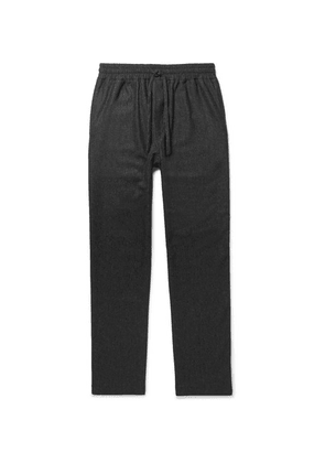 YMC - Brushed Woven Drawstring Trousers - Charcoal