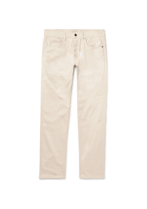 Holiday Boileau - Cotton-corduroy Trousers - Off-white
