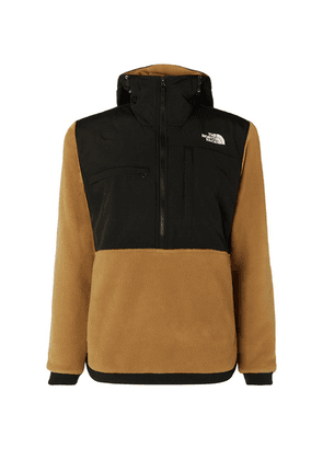 The North Face - Denali Panelled Fleece And Shell Jacket - Brown