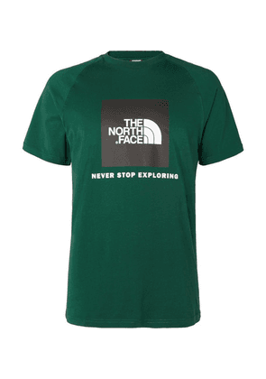 The North Face - Logo-print Cotton-jersey T-shirt - Green