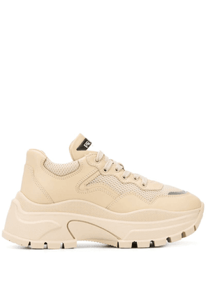 Prada chunky low-top sneakers - Neutrals