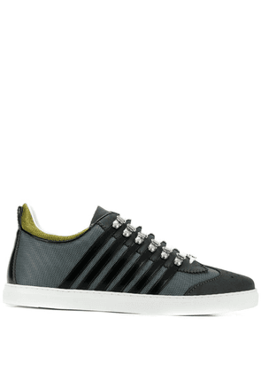 Dsquared2 stripe panel sneakers - Grey