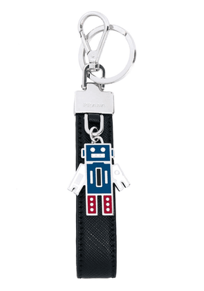 Prada robot key chain - Black