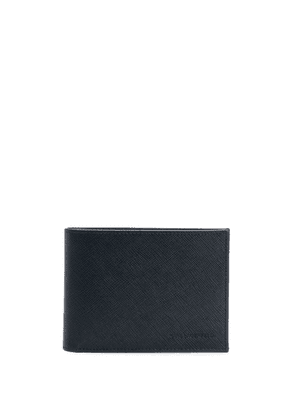 Karl Lagerfeld leather card holder - Blue