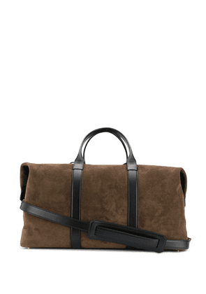 Tom Ford suede holdall - Brown