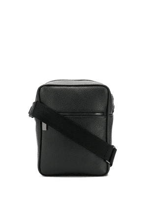 Canali zipped messenger bag - Black