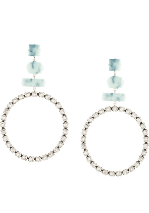 Isabel Marant oversized hoop earrings - Silver