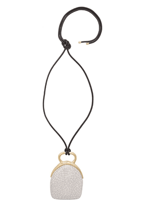 Isabel Marant Ring My Bell necklace - White