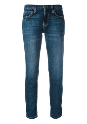 Current/Elliott straight cropped jeans - Blue