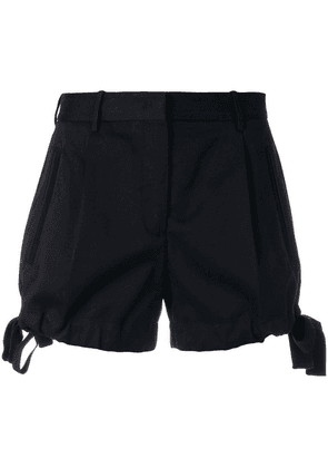 Moncler fitted shorts - Blue