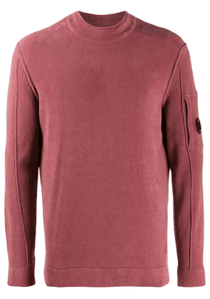 CP Company funnel neck fleece - Pink