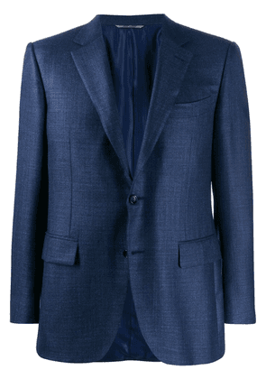 Canali slim-fit formal blazer - Blue