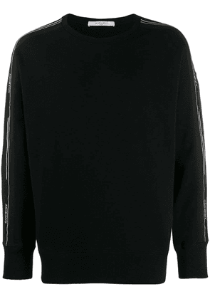 Givenchy printed logo sweatshirt - Black