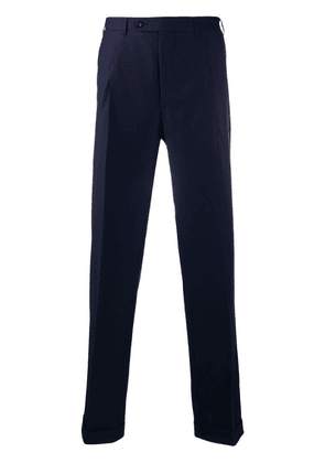 Canali straight leg trousers - Blue