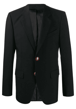 Givenchy embossed button blazer - Black