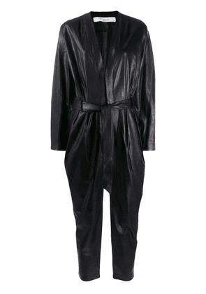 Iro belted jump suit - Black