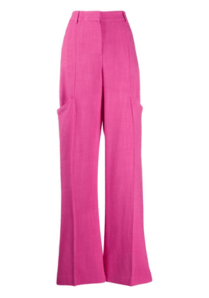 Jacquemus wide leg trousers - Pink