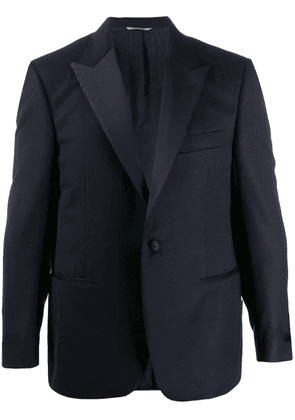 Canali tailored suit jacket - Blue
