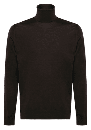 Prada roll neck jumper - Brown