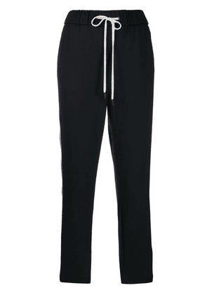 Peserico tapered panel jogging trousers - Blue