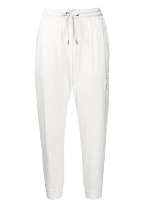 Brunello Cucinelli tapered track pants - White
