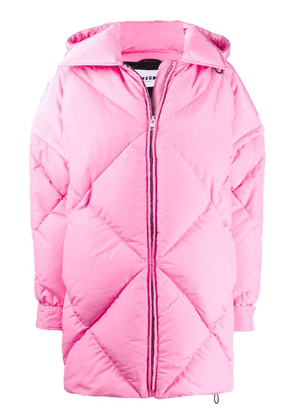 MSGM padded detachable sleeves coat - Pink