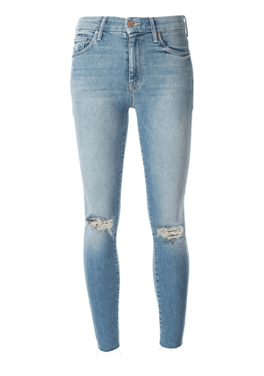 Mother distressed skinny jeans - Blue