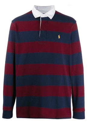 Ralph Lauren striped polo shirt - Blue