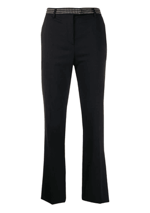 Roberto Cavalli studded tailored trousers - Black