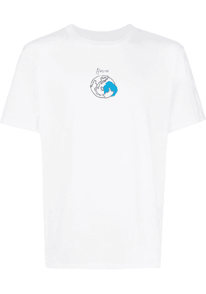 Julien David earth scribble T-shirt - White