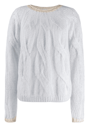 Forte Forte cable-knit jumper - Neutrals