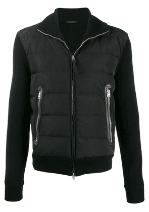 Tom Ford padded zip-front jacket - Black