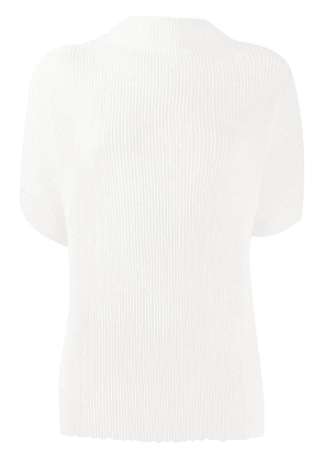 The Row ribbed T-shirt - White