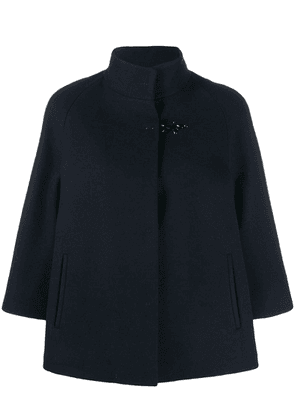 Fay cropped sleeves jacket - Blue