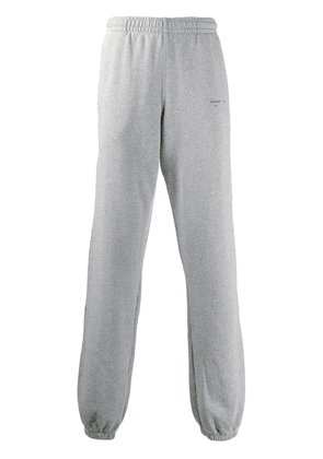 Off-White arrows print track trousers - Grey