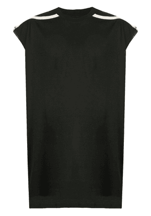 Rick Owens sleeveless fitted top - Black