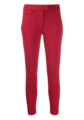 Dondup cropped leggings - Red