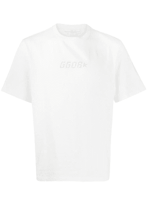 Golden Goose logo print T-shirt - White