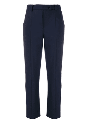 Patrizia Pepe cropped trousers - Blue
