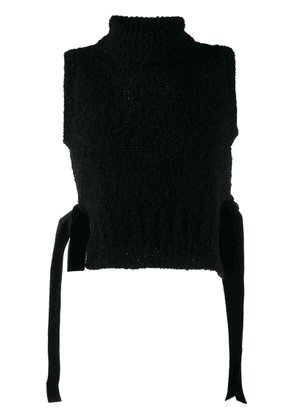 Cecilie Bahnsen sleeveless knitted top - Black